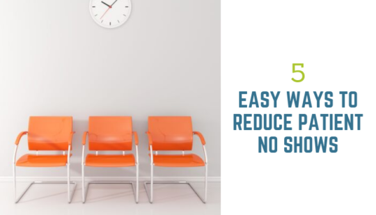 5 Ways to Reduce Patient No-Shows Header